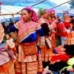 Bac Ha Market on Sunday
