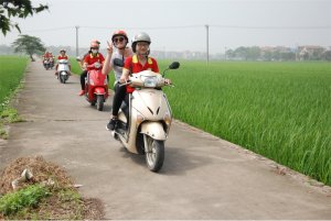 hanoi motorbike countryside tour